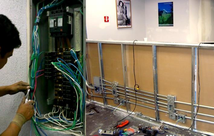 Electricidad • Construcciones Gomo