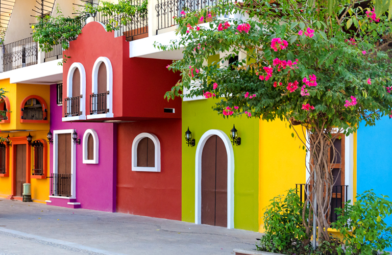 Pintura de fachadas construcciones gomo - Mejor pintura para hierro exterior ...